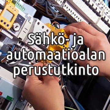 Sähkö- ja automaatioalan perustutkinto