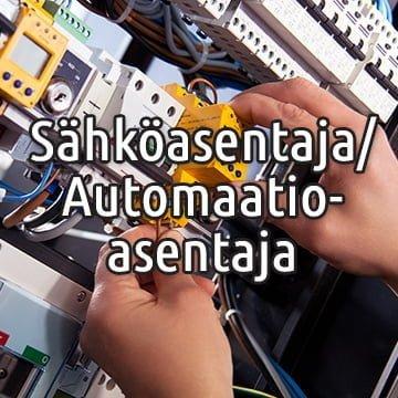 Sähköasentaja / Automaatioasentaja