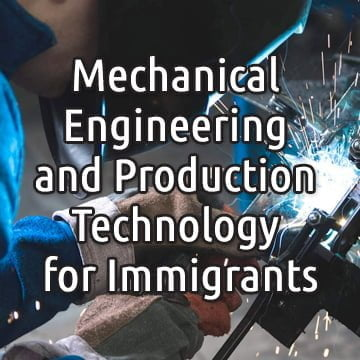 Mechanical Engineering and Production Technology for Immigrants